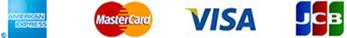 AMERICANEXPRESS MasterCard VISA JCB